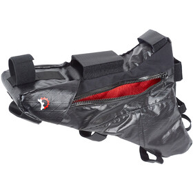 Revelate Designs Mukluk Carbon Bolsa de Cuadro XL, negro